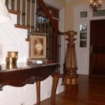 Newel Post | Custom Home Builder Pittsboro