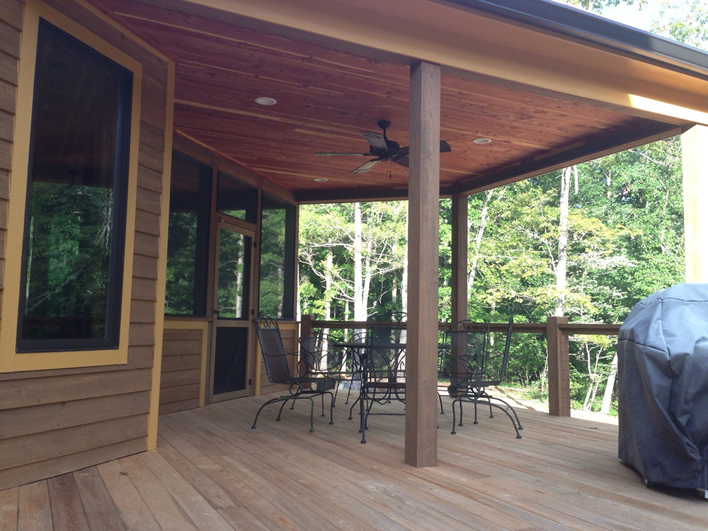 Image gallery coensol builders inc for Cypress porch columns