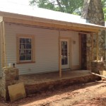 Cottage facade remodel