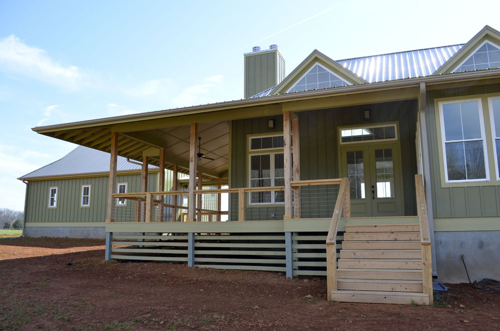 Contemporary Country Home Coensol Builders Inc